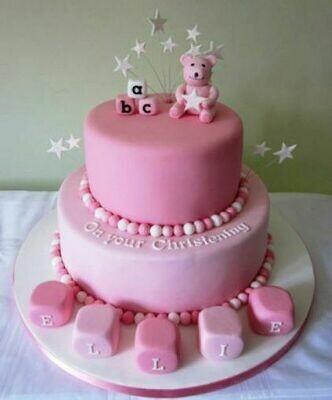 Ellie Christening Cake