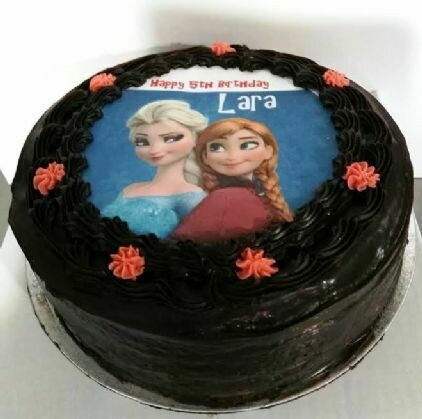 Chocolate Cake with Picture
