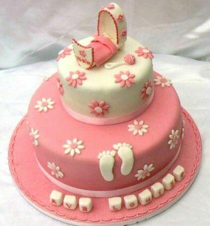 Ava Christening Cake
