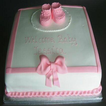 Jessica Christening Cake