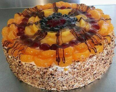 Mixed Fruit Gateau