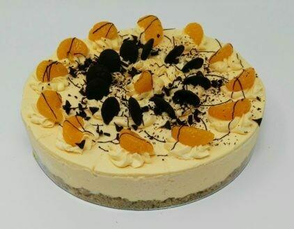 Orange and Chocolate Cheesecake
