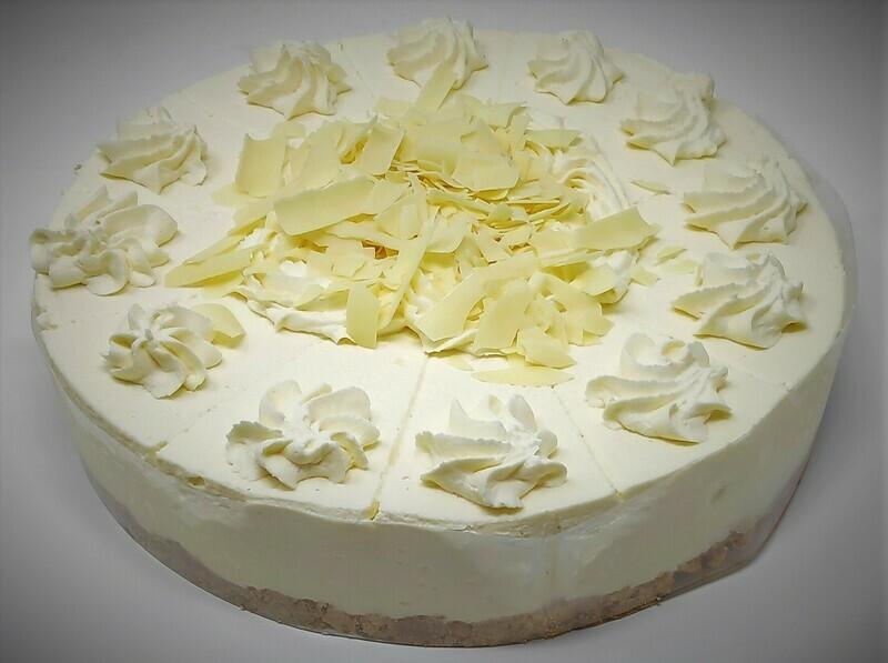 White Chocolate & Raspberry Cheesecake