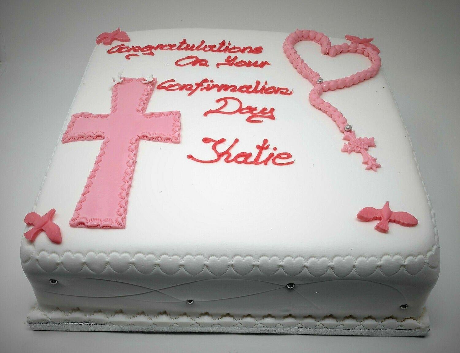 Communion and Confirmation Cakes