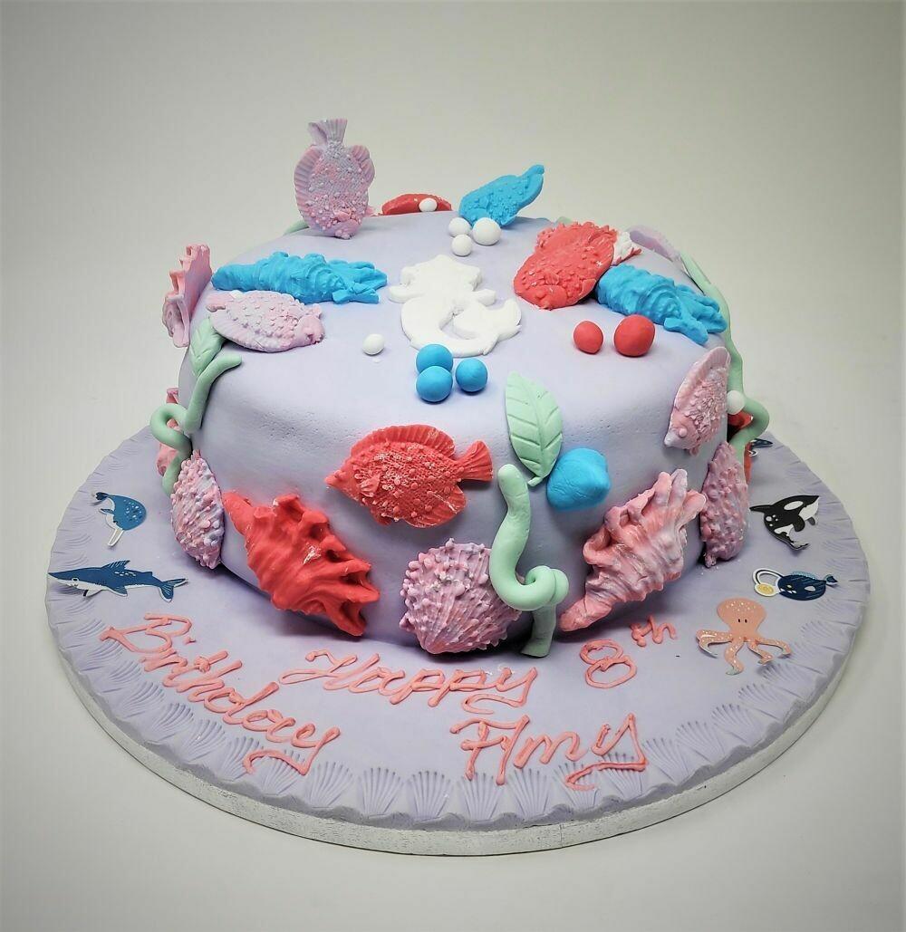 Sea Shore Cake