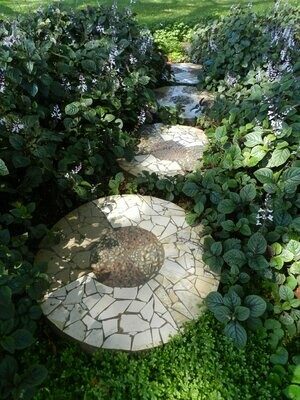 Mosaic Paver Round Large