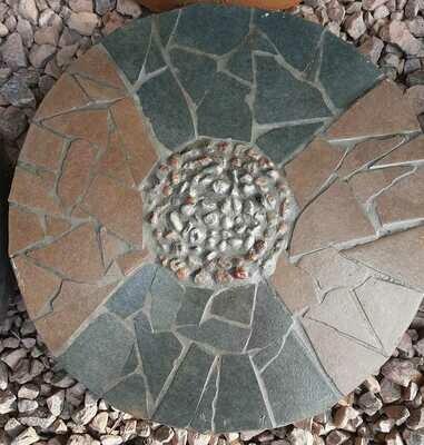 Mosaic Paver Round Small