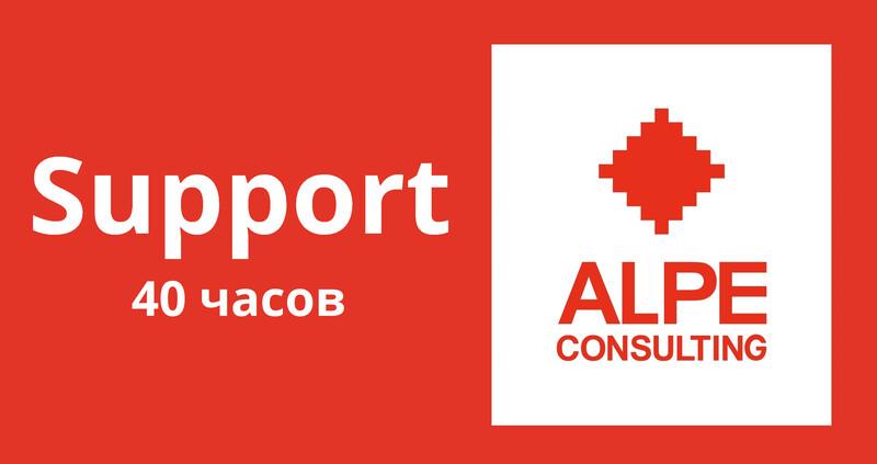 40 часов консультаций по поддержке в системе SAP