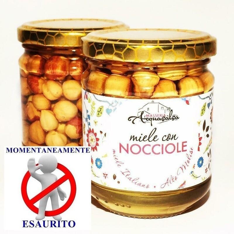 Miele con Nocciole 250g