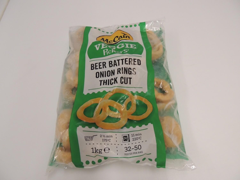 Onion Rings / Zwiebelringe im Bierteig