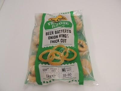 Onion Rings / Zwiebelringe im Bierteig,  tiefgekühlt