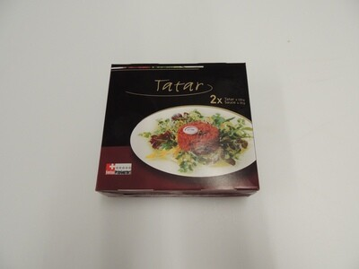 Rinds Tatar mit Sauce , tiefgekühlt