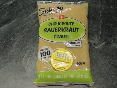 Schöni Sauerkraut, gekocht