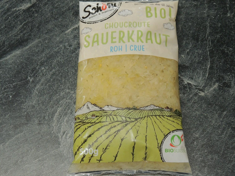 Schöni Bio Sauerkraut, roh