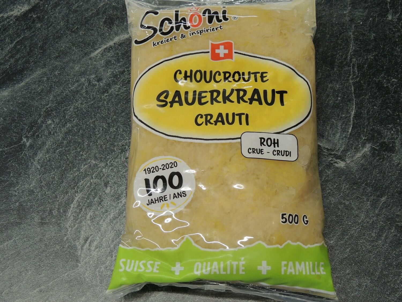 Schöni Sauerkraut, roh