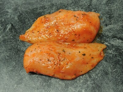 Poulet Brust, ca 80g, HOT Marinade