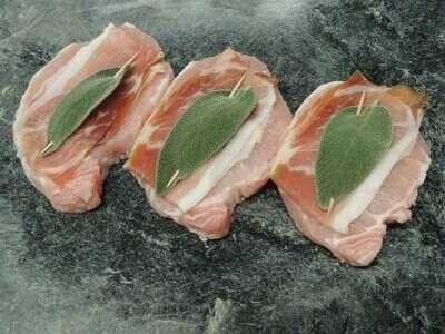 Schweins Saltimbocca