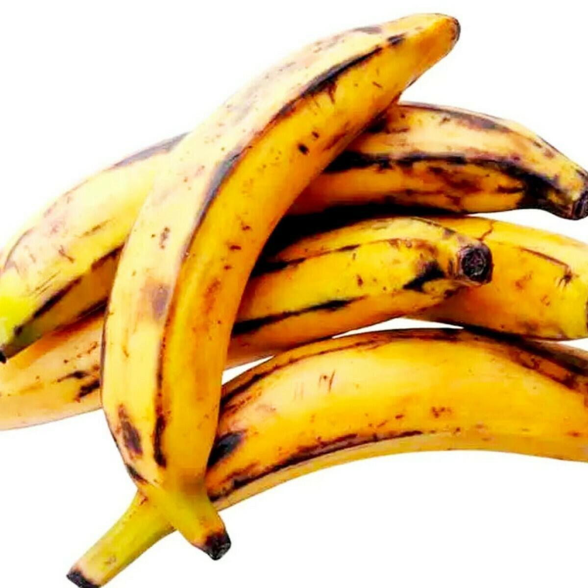 Plátano de freír maduro