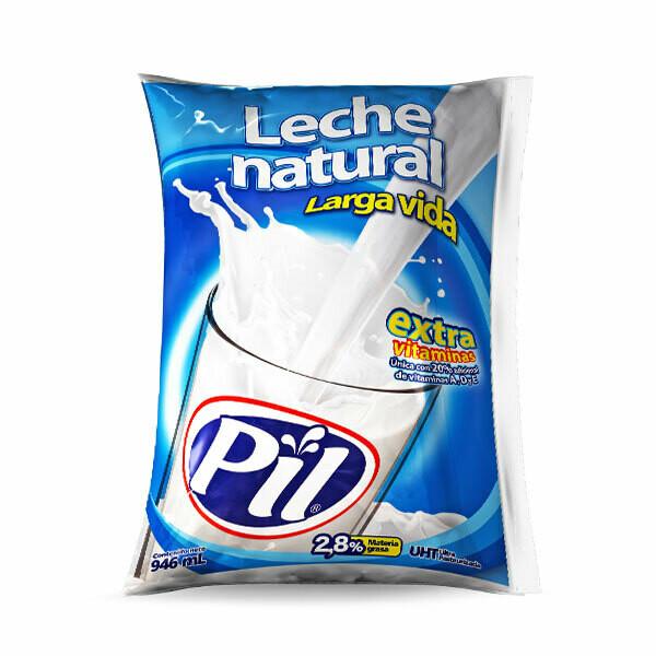 Leche fresca natural Larga Vida Pil 946 ml