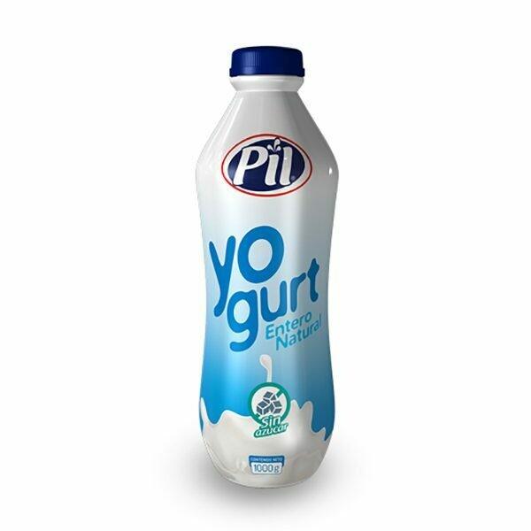 Yogurt entero bebible natural Pil bote 1 kg
