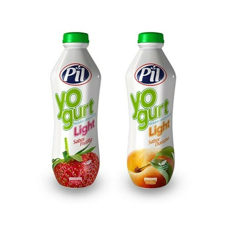 Yogurt descremado light Pil bote 1 kg