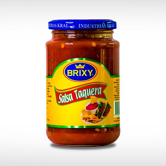 Salsa para tacos Brixy - 1 frasco de 370 gr