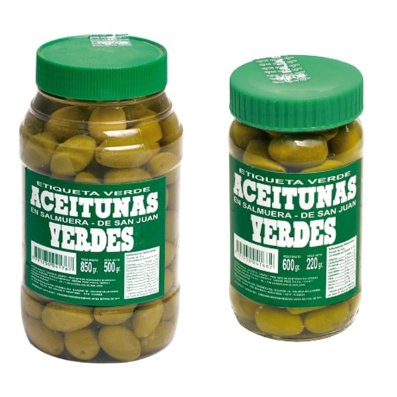 Aceitunas Etiqueta Verde