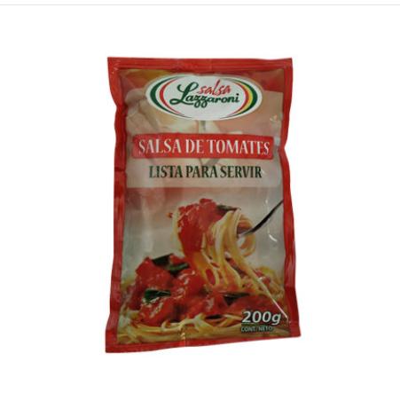 Salsa de tomate Lazzaroni 200 gr