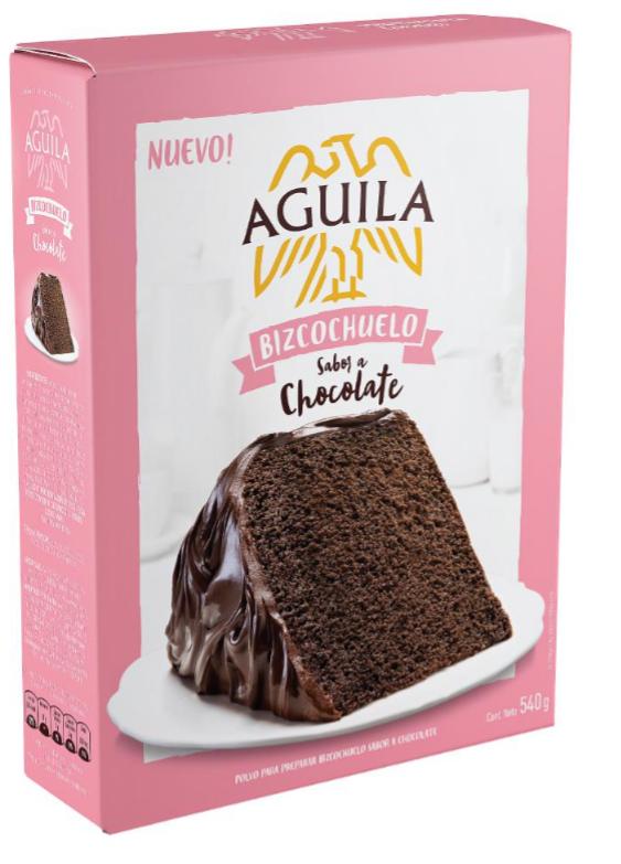 Bizcochuelo sabor chocolate Aguila 540 gr