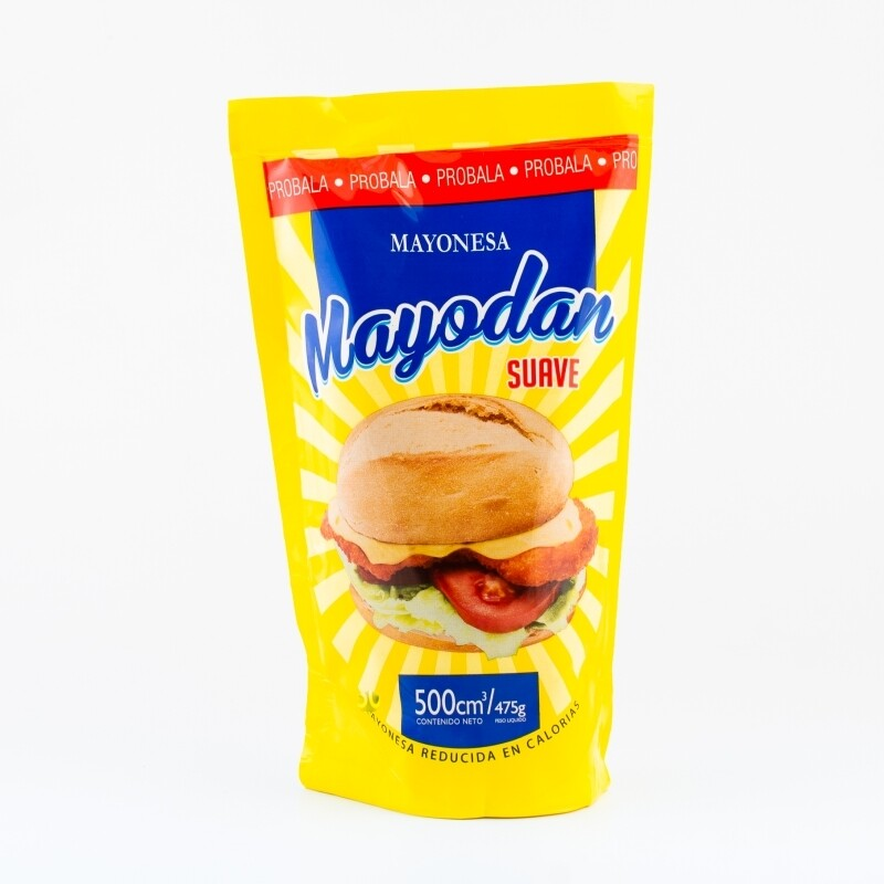 Mayonesa suave Mayodan 500 cm3