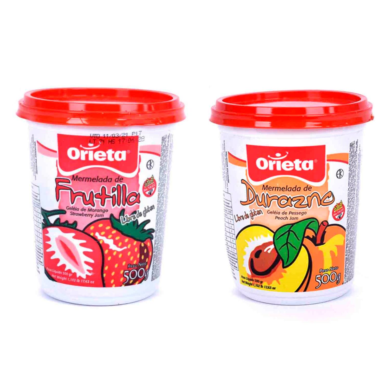 Mermelada Orieta 500 gr