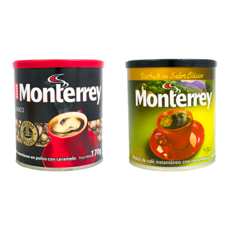 Café instantáneo con caramelo Monterrey