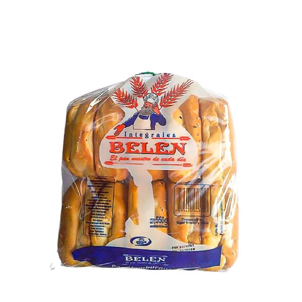 Pan para hamburguesa grande Panadería Belén - 1 bolsa de 10 unidades