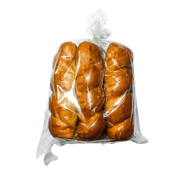 Pan trenzado dulce Panadería Ortiz - 1 bolsa