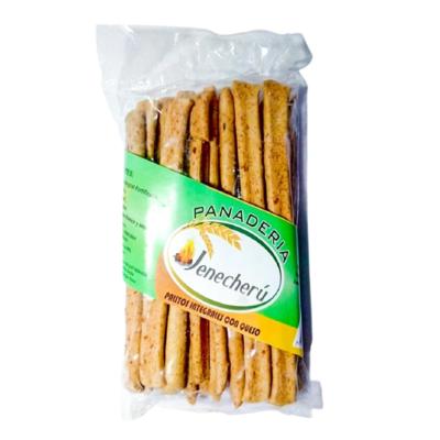Palitos integrales con queso Panadería Jenecherú - 1 bolsa