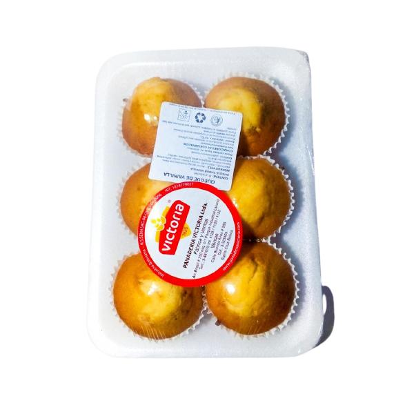 Queques de vainilla Panadería Victoria - 1 bandeja