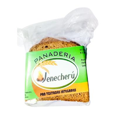 Tostadas integrales Panadería Jenecherú - 1 bolsita