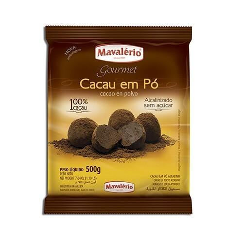 Cacao en polvo Mavalerio 500 gr