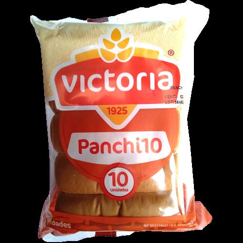 Pan para panchito Pandería Victoria - 10 unidades