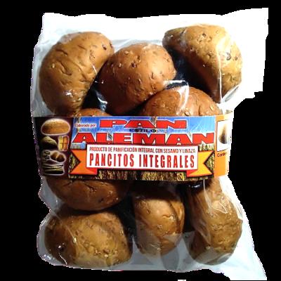 Pancitos integrales Panadería Pan Alemán - 1 bolsa