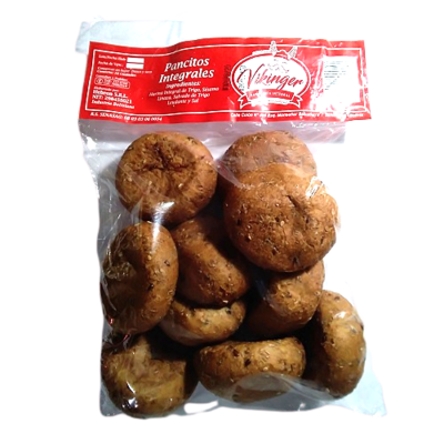 Pancitos integrales Panadería Vikinger - 1 bolsa