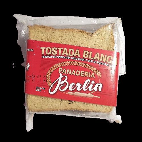Tostadas blancas Panadería Berlín - 1 bolsa