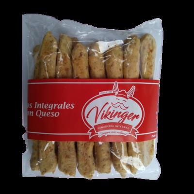 Palitos Integrales con queso Panadería Vikinger - 1 bolsa
