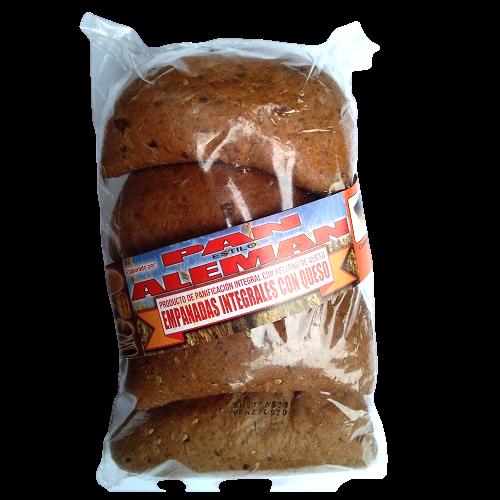 Empanadas integrales con queso Panadería Pan Alemán - 1 bolsa