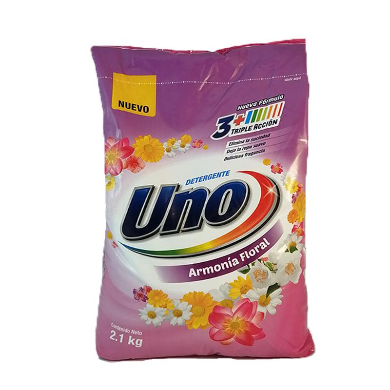 Detergente en polvo Uno 2,1 kg