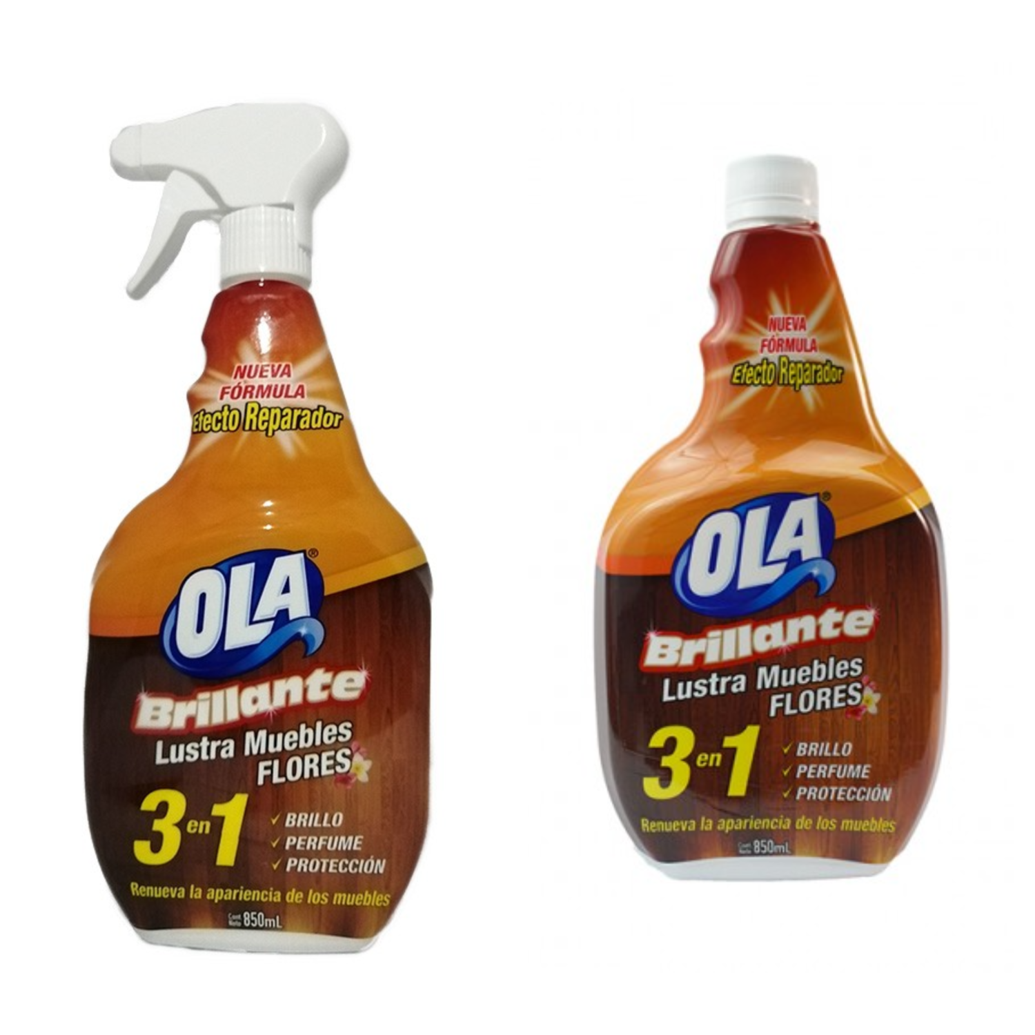 Lustra muebles Ola Brillante 850 ml
