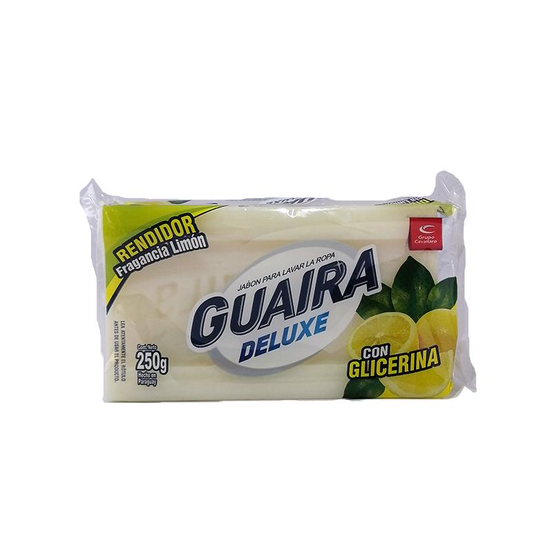 Jabón en barra Guaira Deluxe 250 gr