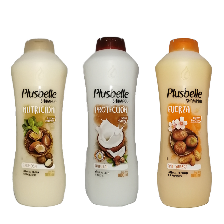 Shampoo Plusbelle 1.000 ml