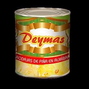 Rodajas de piña Deymas 836 gr