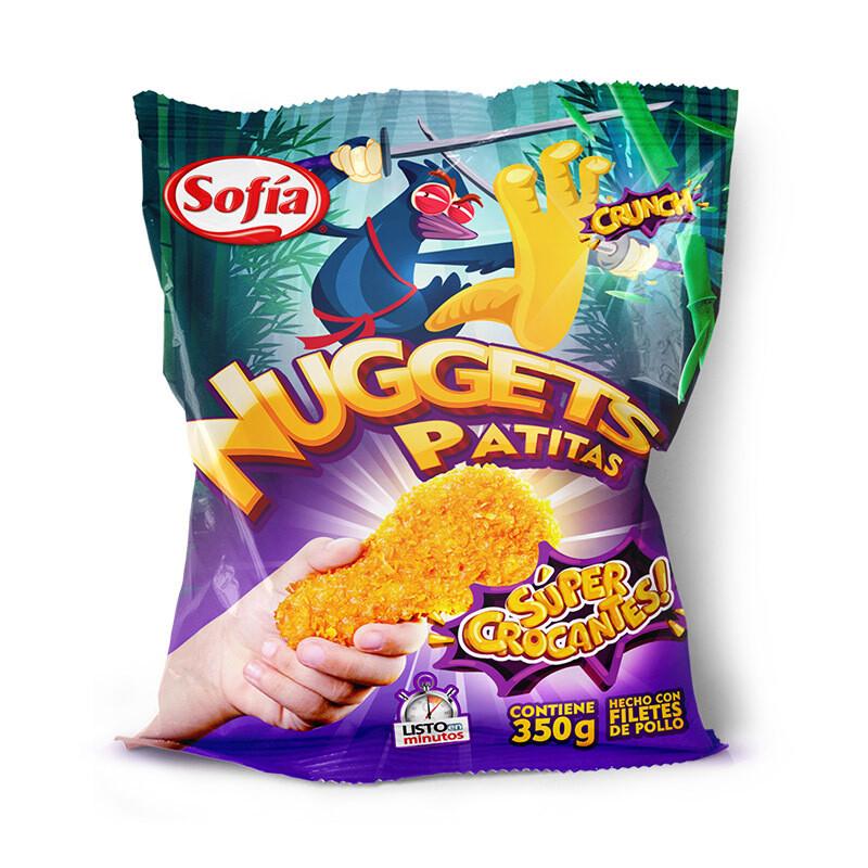 Nuggets Patitas super crocante Sofía 350 gr